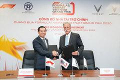 Vinfast announced as F1 Vietnamese GP's title sponsor