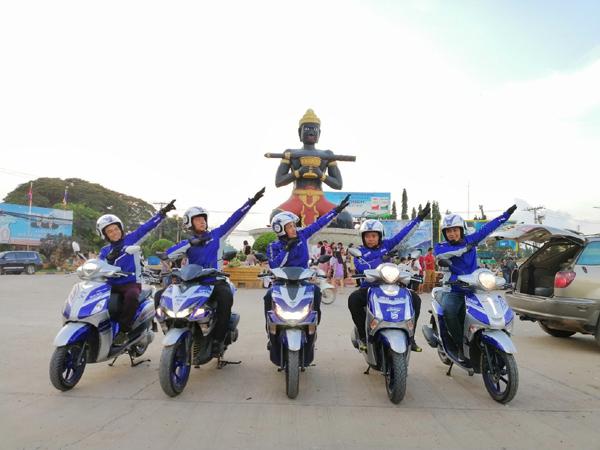 Cán mốc 2.500km xuyên ĐNÁ, Yamaha Blue Core tiết kiệm xăng mức nào?
