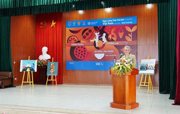 World Food Day,FAO Representative,end hunger and malnutrition,social news,vietnamnet bridge,english news,Vietnam news,vietnamnet news,Vietnam latest news,Vietnam breaking news,Vietnamese newspaper,news vietnam