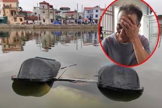 """Tang thương gia đình có 2 bé gái chết đuối trong lúc chơi đạp vịt ở Hà Nội: """"Cùng một lúc, tôi mất cả cháu nội, cháu ngoại"""""""