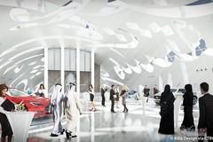 Bên trong bảo tàng Tương Lai ở Dubai được thiết kế bắt nguồn từ phong thủy