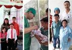Niềm vui vỡ òa trước cửa phòng sinh của cặp vợ chồng 'tí hon' ở Phú Thọ