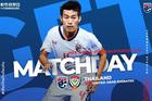 Thái Lan 1-0 UAE: Dangda lập công (H1)