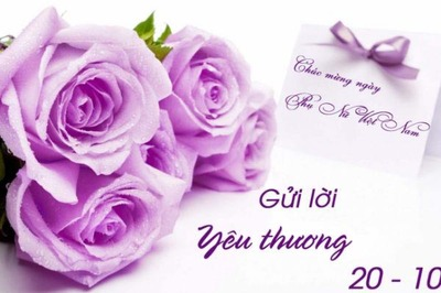 Lời chúc Ngày Phụ nữ Việt Nam 20/10 ý nghĩa dành tặng bạn gái