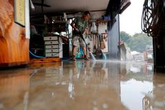 Japan launches major search operation after deadly typhoon kills dozens