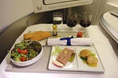 Bí quyết làm nên những suất ăn 5 sao trên máy bay