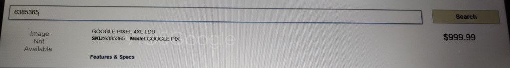 Google Pixel 4 XL rò rỉ giá bán trước giờ G