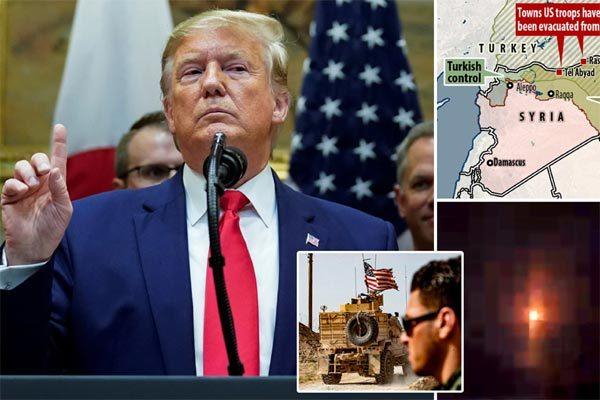 Donald Trump,Mỹ,Syria,người Kurd,rút quân