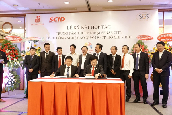 Quận 9 sắp có trung tâm thương mại thuần Việt Sense City