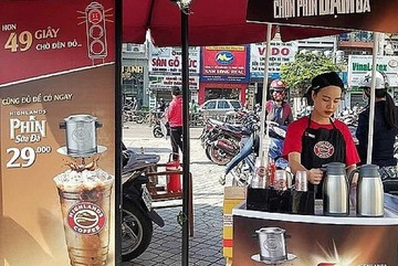 Coffee chains move to streets to sell their products