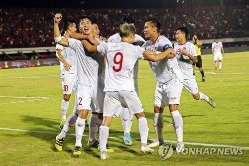 Tuyển Việt Nam,tuyển Indonesia,Vòng loại World Cup 2022,HLV Park Hang Seo,báo Hàn Quốc,Truyền thông quốc tế