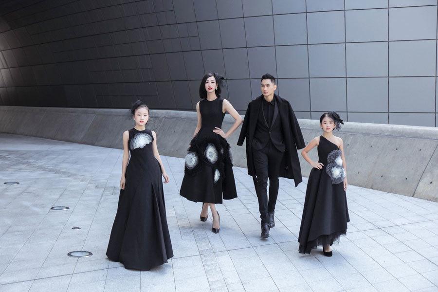 Hải Triều giả gái, mặc váy trang điểm đậm ở Seoul Fashion Week 2019