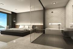 Khách sạn sang trọng với phòng tắm xuyên thấu trở thành 'cứu tinh' hâm nóng tình yêu