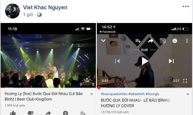 Sau lùm xùm với Đức Phúc, Hương Ly lại cover ca khúc của Khắc Việt không xin phép