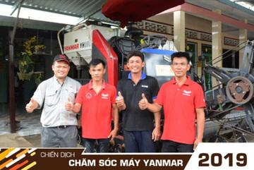Sôi động chiến dịch chăm sóc máy toàn diện của Yanmar