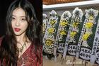 Đám tang Sulli được tổ chức nghiêm ngặt, fan mang hoa trắng đến tiễn biệt
