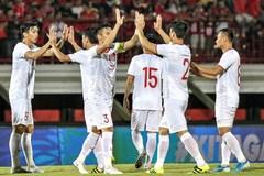 Việt Nam lọt top 4 đội nhì bảng, tăng bậc trên BXH FIFA