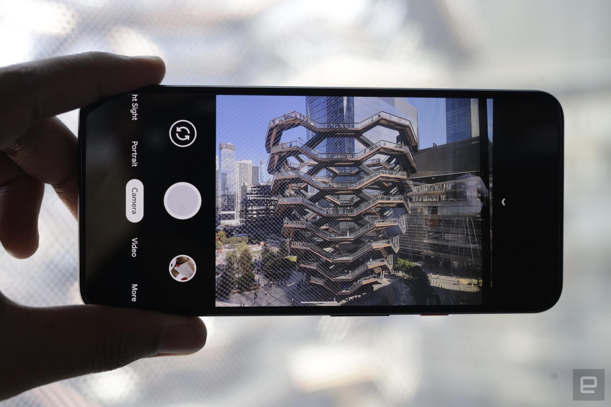 Hình ảnh và video trải nghiệm đầu tiên Pixel 4 và Pixel 4 XL
