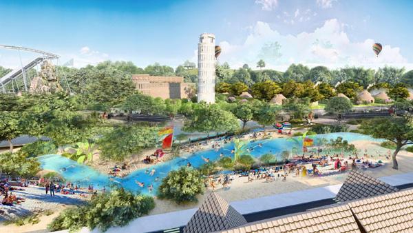 Sắp khởi công dòng suối khoáng ở Eco Bangkok Villas Bình Châu