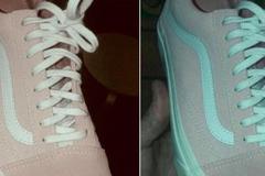 Chiếc giày màu hồng trắng hay xám xanh gây tranh cãi trên mạng