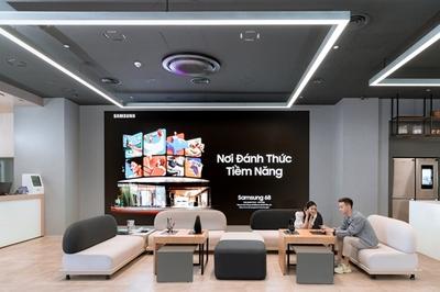 Trải nghiệm công nghệ đỉnh cao ở Samsung 68