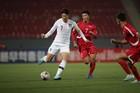Triều Tiên và Hàn Quốc cầm chân nhau ở trận cầu lịch sử