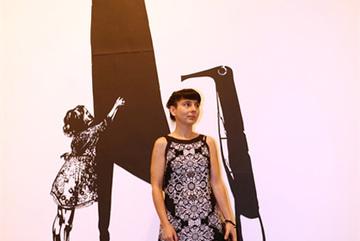 German artist inspired by Truyen Kieu displays work
