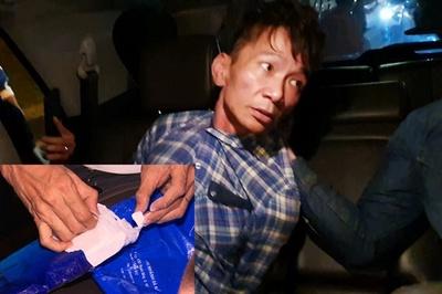 Công an mai phục hầm Hải Vân, bắt gọn 2 trùm buôn ma túy