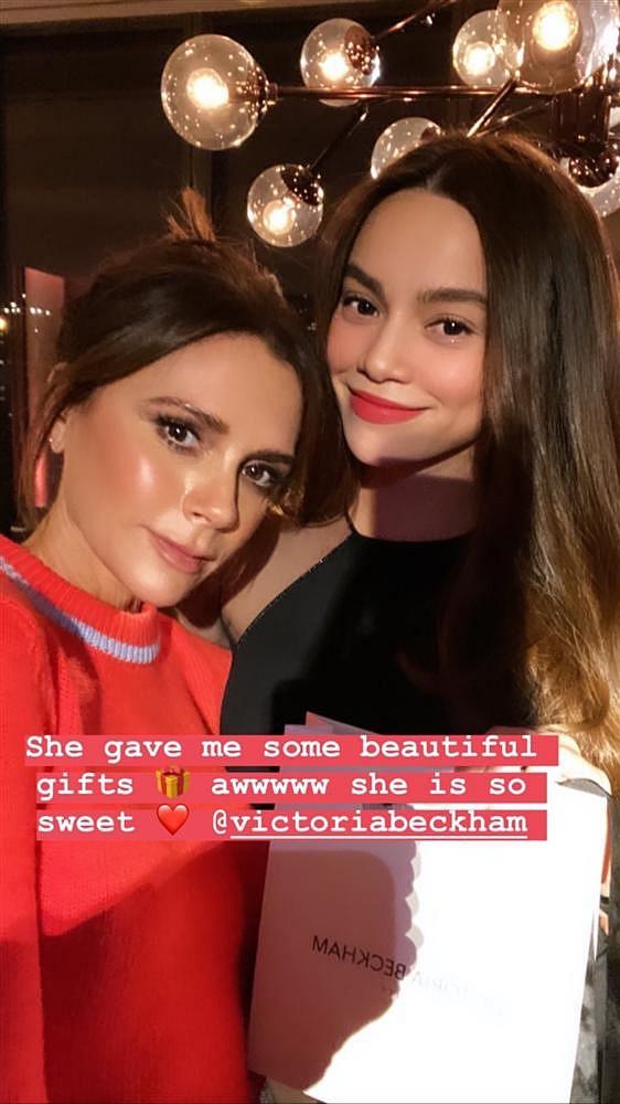 Hồ Ngọc Hà đọ sắc bên Victoria Beckham