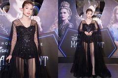 Hotgirl Sam mặc váy đen xuyên thấu xem ra mắt 'Tiên hắc ám 2'