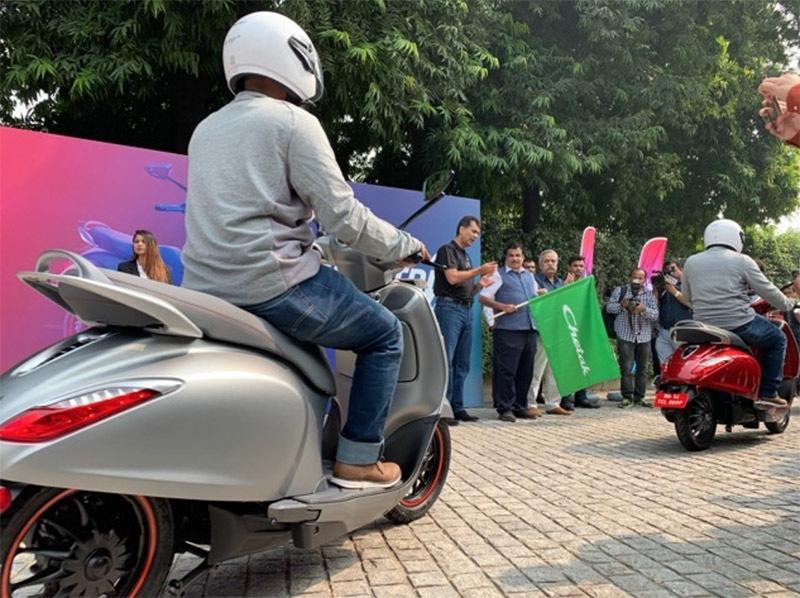 Bajaj Chetak,xe máy điện,xe điện,scooter điện,Ấn Độ,xe điện ấn độ
