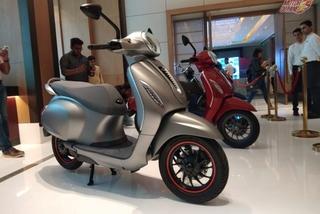 Hé lộ xe máy điện Ấn Độ hao hao Vespa, giá 32 triệu đồng