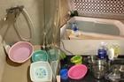 Sông Đà cấp nước trở lại, bồn tắm chung cư cao cấp thành bể chứa