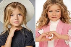 Mẫu nhí Nga được mệnh danh là 'cô bé xinh đẹp nhất thế giới'