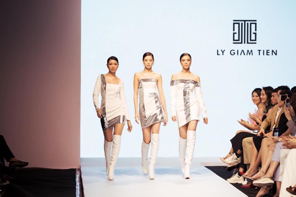 Thuý Vân, Hương Ly nổi bật trong show thời trang HH Hoàn vũ VN 2019