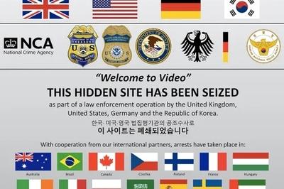 Hàng trăm người bị bắt liên quan trang web ấu dâm