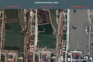 Ảnh vệ tinh tiết lộ bí mật quân sự của Trung Quốc