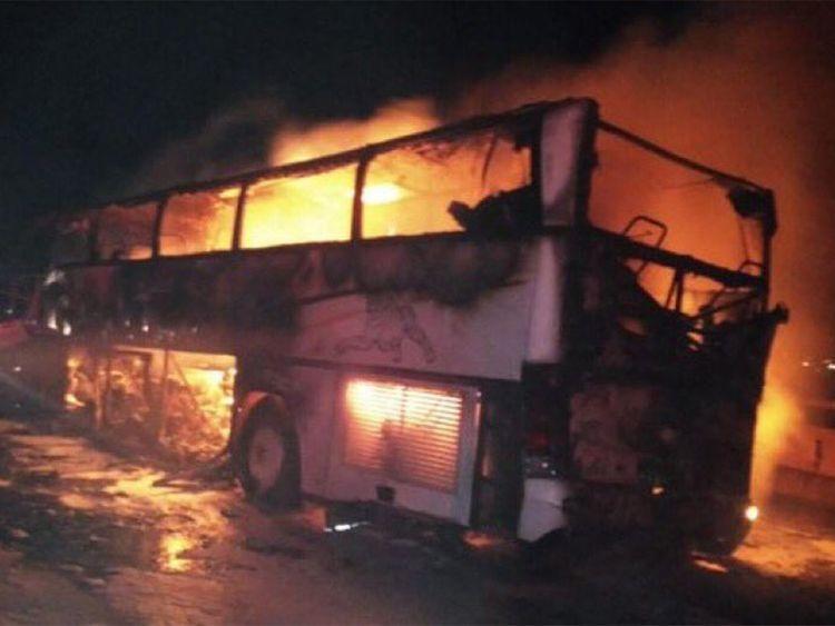 Đâm xe kinh hoàng ở Ảrập Xêút, hàng chục người thiệt mạng
