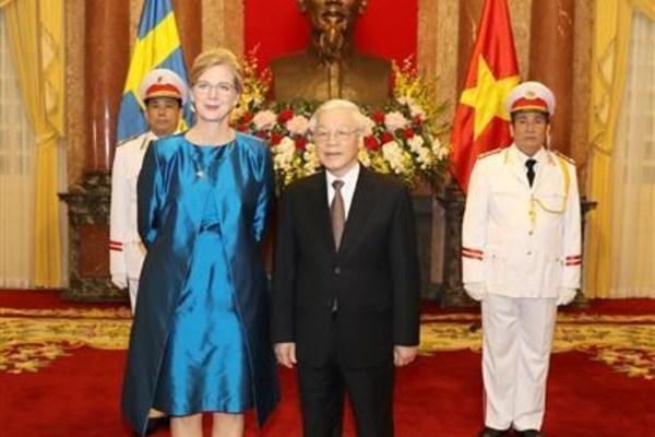 Vietnamese President receives newly-accredited ambassadors