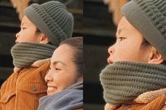 Lộ ảnh rõ mặt con trai Tăng Thanh Hà, dân mạng xuýt xoa vì giống hệt 'tiểu hoàng tử'