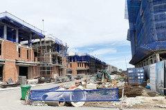 Niêm yết giấy phép xây dựng tại công trình mới được thi công