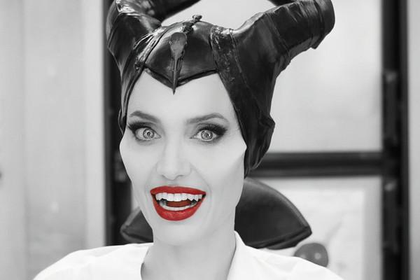 Cận cảnh quá trình biến hình thành 'Tiên hắc ám' của Angelina Jolie