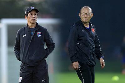 HLV Thái Lan làm điều bất ngờ, quyết đấu tuyển Việt Nam ở Mỹ Đình