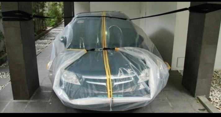 Muôn kiểu chống ngập nước cho xe ô tô cực độc của các xế miền Trung