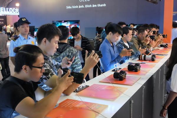 Triển lãm Sony Show 2019 khai mạc tại Hà Nội