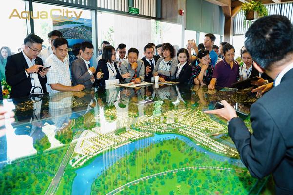 Đô thị sinh thái thông minh Aqua City hút khách
