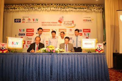 HDBank tiếp tục đồng hành cùng Giải Futsal HDBank Vô địch Đông Nam Á 2019