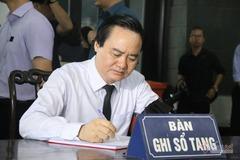 Ông Phùng Xuân Nhạ làm trưởng ban tổ chức lễ tang Thứ trưởng Lê Hải An