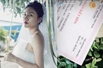 Dân mạng bóc phốt giấy đăng ký kết hôn của Văn Mai Hương là giả, nghi chiêu trò PR sản phẩm mới