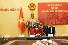 Chủ tịch Quốc hội Nguyễn Thị Kim Ngân gặp mặt tuyển nữ Việt Nam